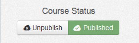 wileyplus published course status button