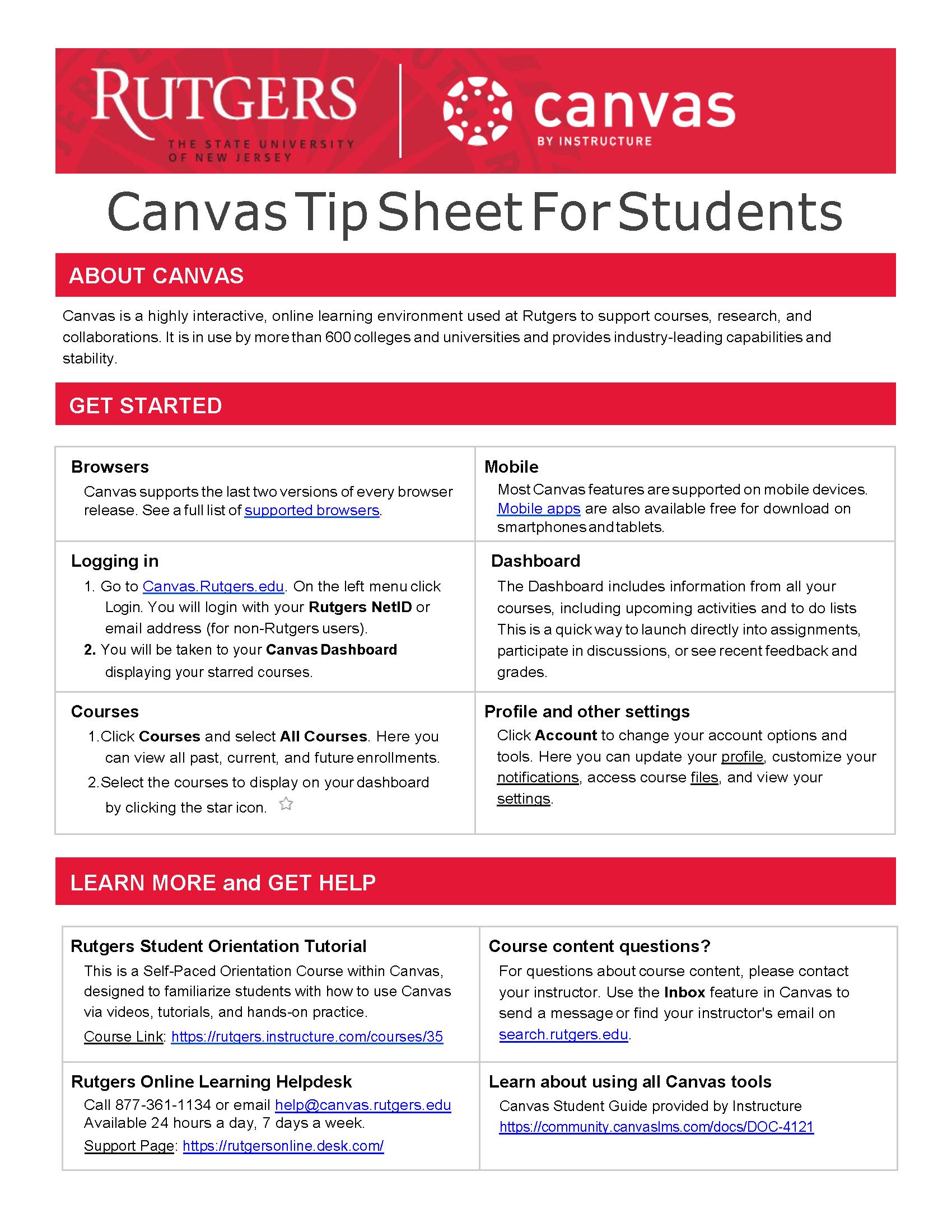 canvas tip sheet thumbnail