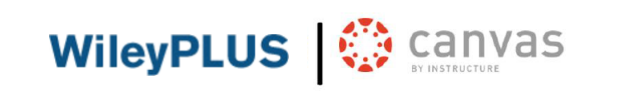 Logo of Wileyplus and Canvas