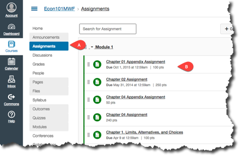 Canvas Assignments with Deployed Connect Assignments