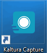 kaltura capture desktop icon