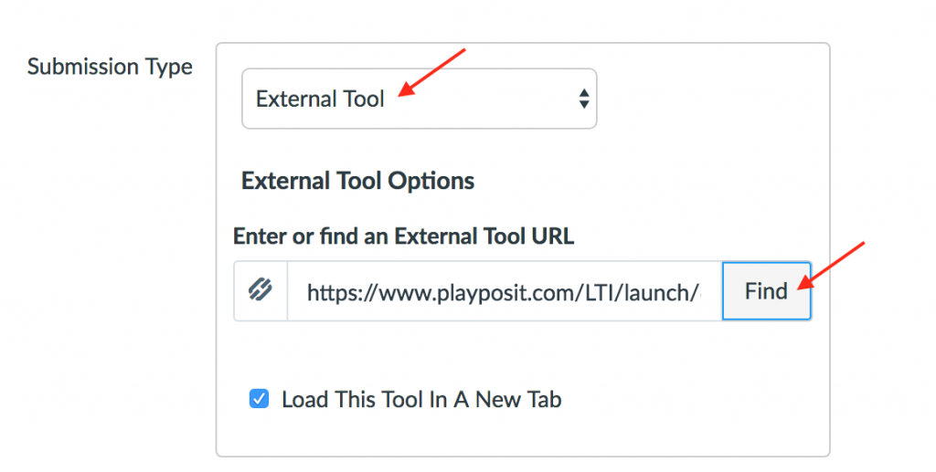 Select External Tool and find Plaposit