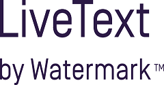 livetext by watermark logo