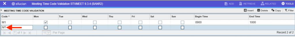 screenshot instructor addition in banner